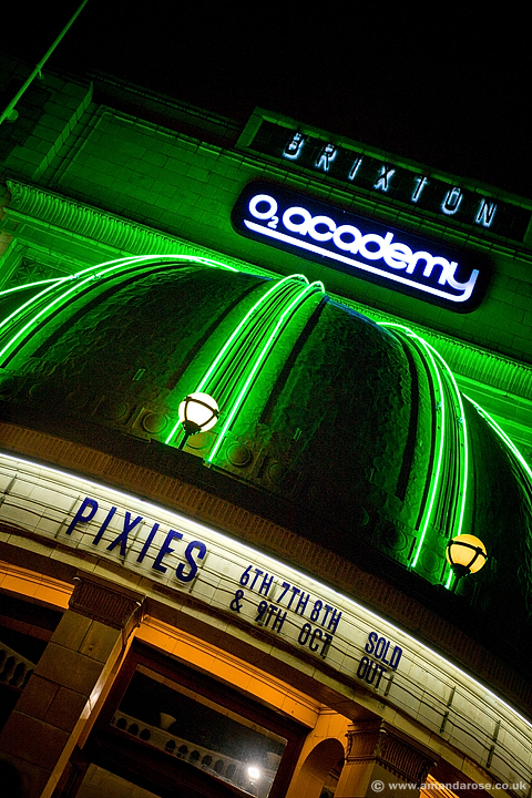 The Pixies, performing live at Brixton Academy, London, 6th October 2009