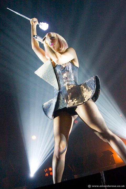 Lady Gaga, performing live at Brixton Academy, 14th July 2009