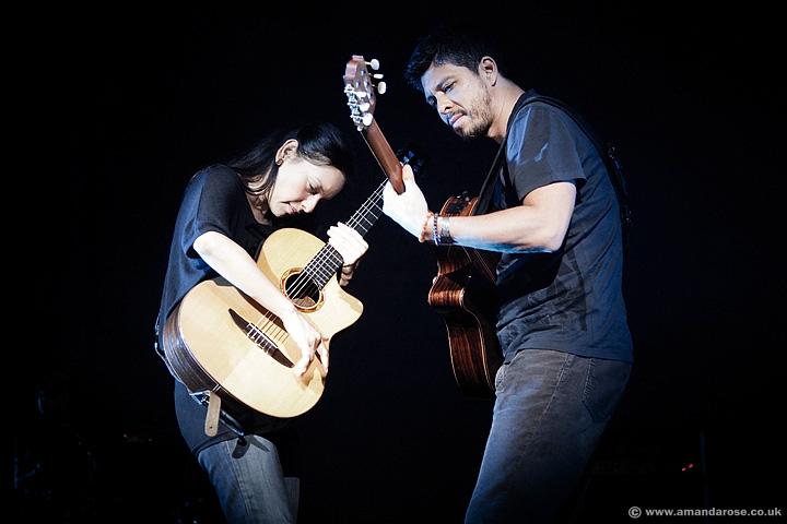 Rodrigo y Gabriela performing live at O2 Academy Brixton, 24th February 2012