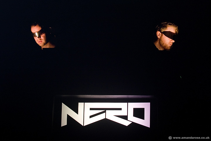 Nero, performing live at O2 Academy Brixton, 24th March 2012