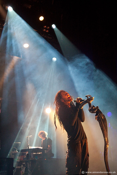 Korn, performing live at O2 Academy Brixton, 25th March 2012