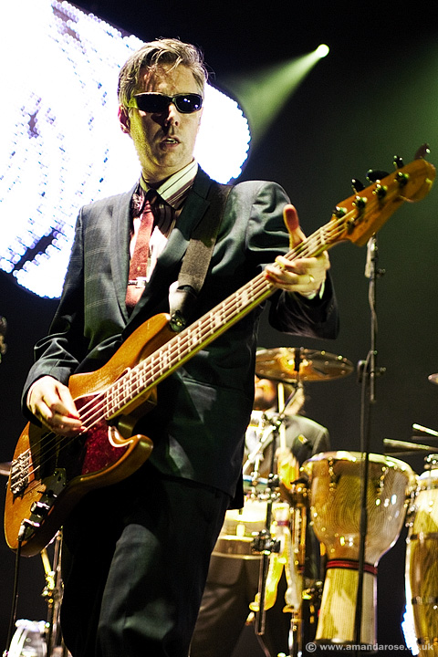 Adam Yauch, performing with the Beastie Boys, Brixton Academy, 4th September 2007
