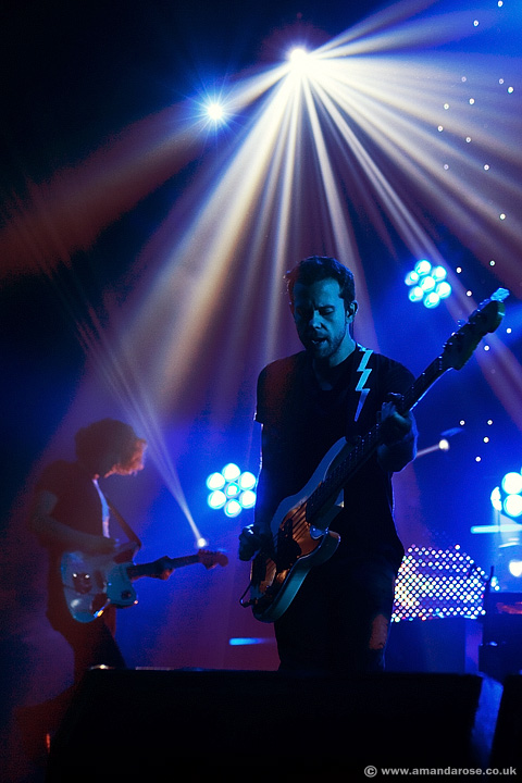 M83, performing live at O2 Academy Brixton, 8th November 2012