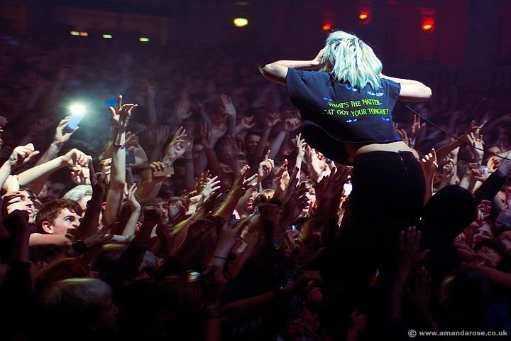 Crystal Castles, performing live at O2 Academy Brixton, 24th November 2012
