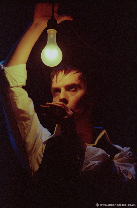 Bauhaus, performing live at Brixton Academy, 7th November 1998