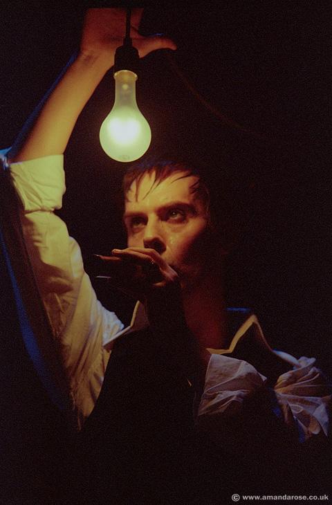 Bauhaus, performing live at Brixton Academy, 7th November 1998