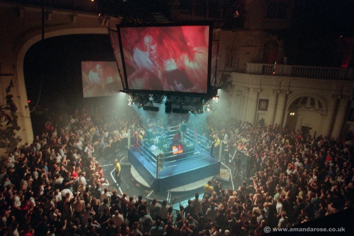 Fatboy Slim, performing live at Brixton Academy, 12th June 1999