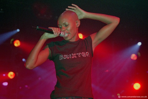 Skunk Anansie, performing live at Brixton Academy, 19th October 1999