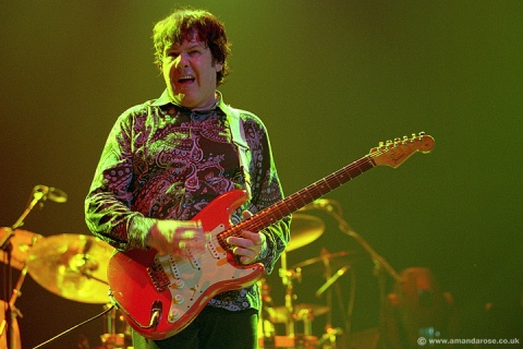 Gary Moore, performing live at Brixton Academy, 30th November 2002