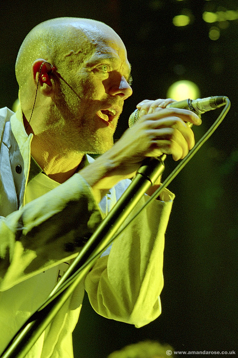 REM, performing live at Brixton Academy, 24th June 2003