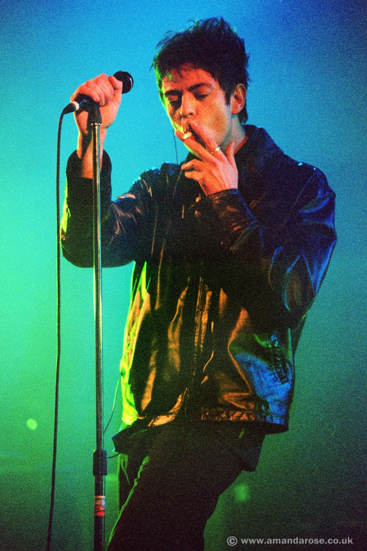 Echo and the Bunnymen, performing live at Brixton Academy, 3rd April 1998