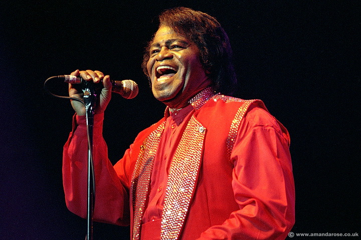 James Brown, performing live at Brixton Academy, 9th July 2000