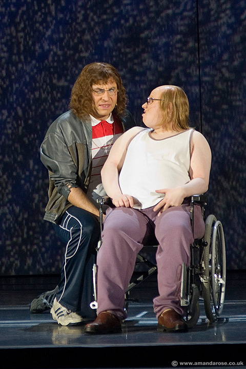 Little Britain (David Walliams & Matt Lucas as Lou and Andy) Brixton Academy, 23rd November 2006