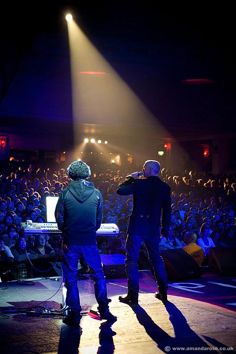 Pet Shop Boys, performing live at Warchild, Brixton Academy, 1st November 2007