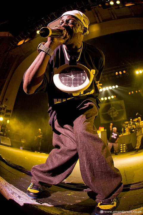 Public Enemy, performing live at Brixton Academy, 23rd May 2008