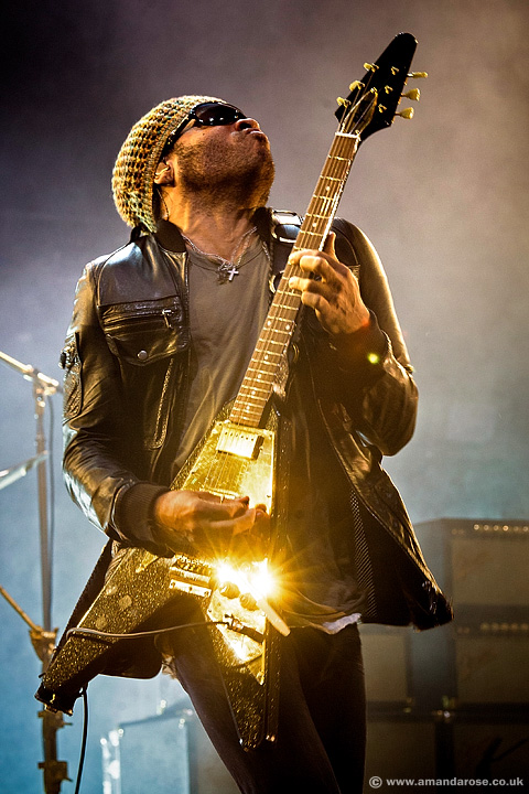 Lenny Kravitz, performing live at Brixton Academy, 13th August 2008