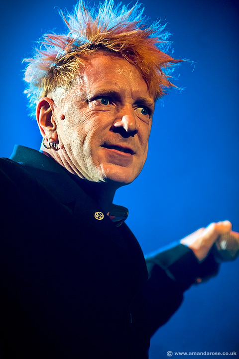 PiL (Public Image Ltd), performing live at Brixton Academy, 21st December 2009