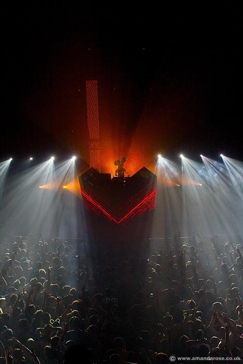 Deadmau5, performing live at Brixton Academy, 30th April 2010