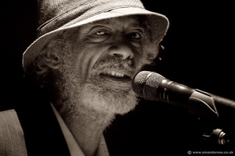 Gil Scott-Heron, performing live at Brixton Academy, 14th November 2010