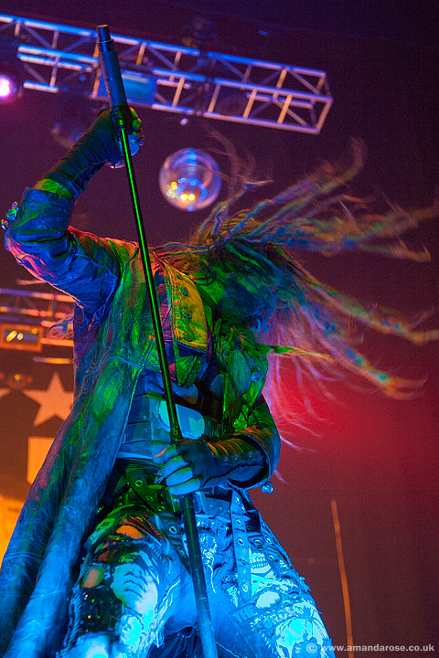 Rob Zombie, performing live at Brixton Academy, 16th February 2011