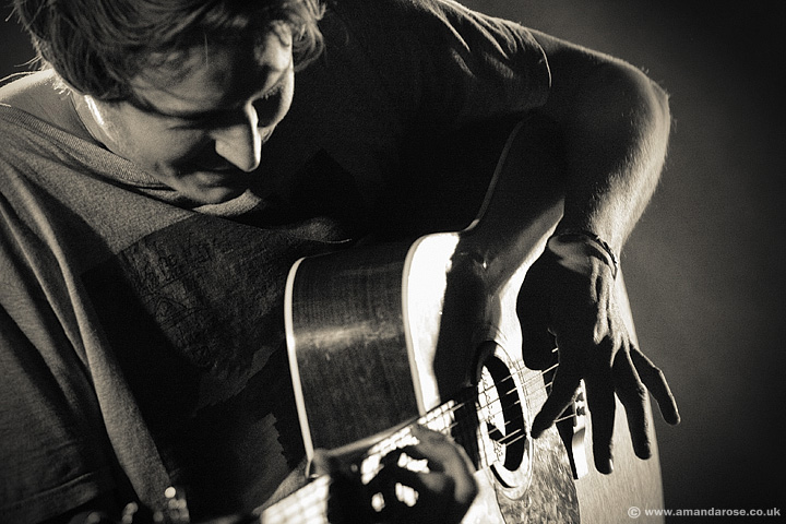 Ben Howard, performing live at XFM Winter Wonderland, O2 Academy Brixton, 14th December 2011