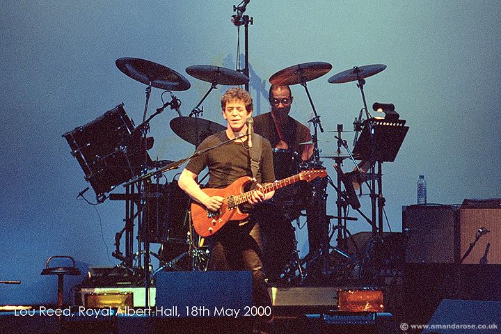Lou Reed, Royal Albert Hall, 18th May 2000