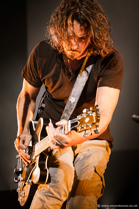 Soundgarden, performing live at O2 Academy Brixton, 18th September 2013