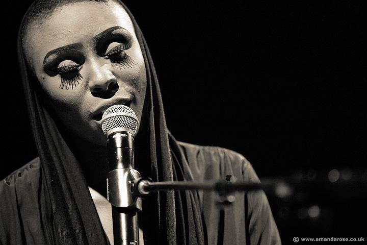 Laura Mvula, performing live at O2 Shepherds Bush Empire, 4th October 2013