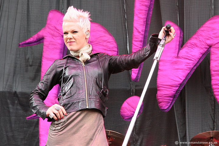 Pink, V2007, Chelmsford, 18th August 2007