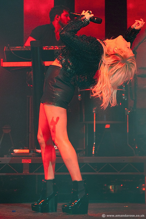 Ellie Goulding, performing live at O2 Academy Brixton, 12th December 2012