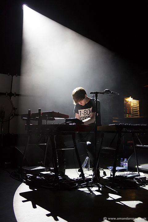 James Blake, performing live at O2 Shepherds Bush Empire, 25th September 2013