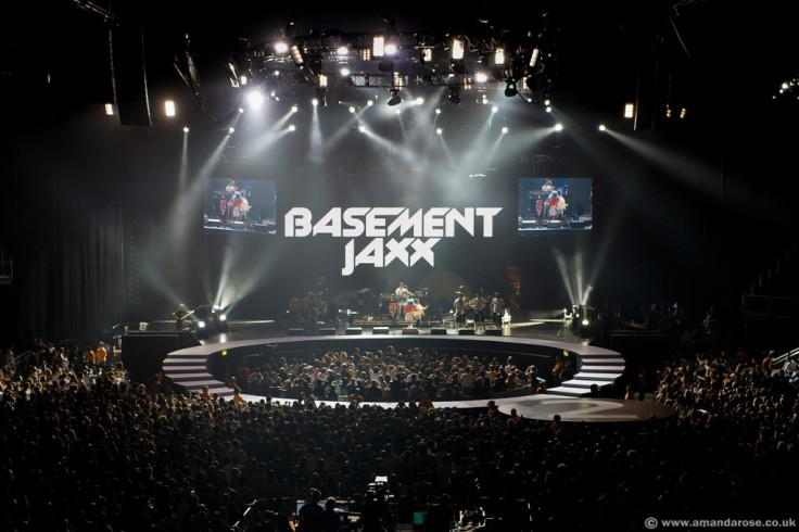 Basement Jaxx, performing live at The O2 Premiere, 23rd June 2007