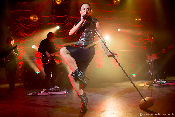 Spice Girl Mel C celebrates her 40th birthday with a one off show at London's O2 Shepherds Bush Empire