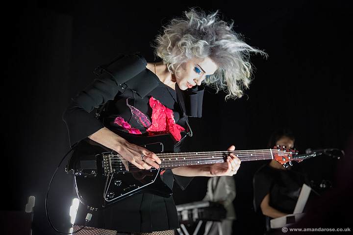 St Vincent, performing live at O2 Shepherds Bush Empire, 20th February 2014