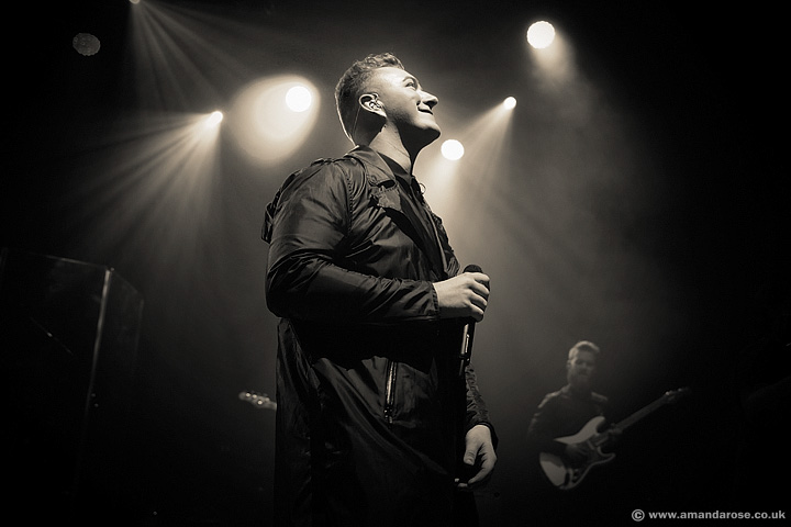 Sam Smith, performing live at O2 Shepherds Bush Empire, 24th February 2014