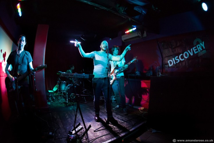 Model Society performing live at Discovery 2, AAA, Archangel Islington, 27th March 2014