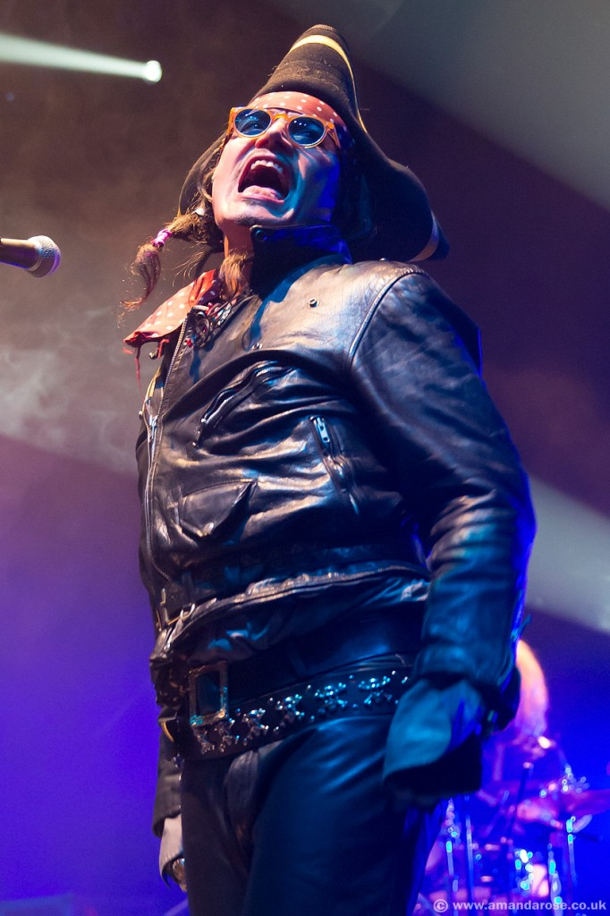 Adam Ant, Performing 'Dirk Wears White Sox' live at Eventim Apollo, Hammersmith, 19th April 2014