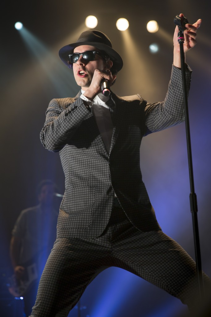 Maximo Park performing live at the Kentish Town Forum, 20th March 2014