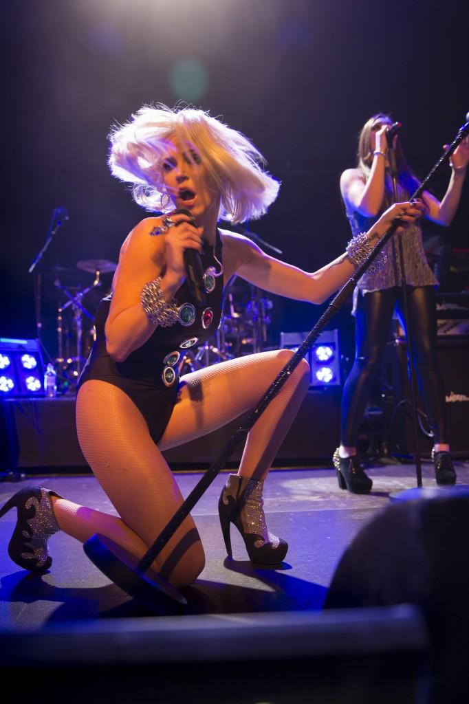 Sarah Harding, performing live at O2 Academy Islington, 26th March 2014