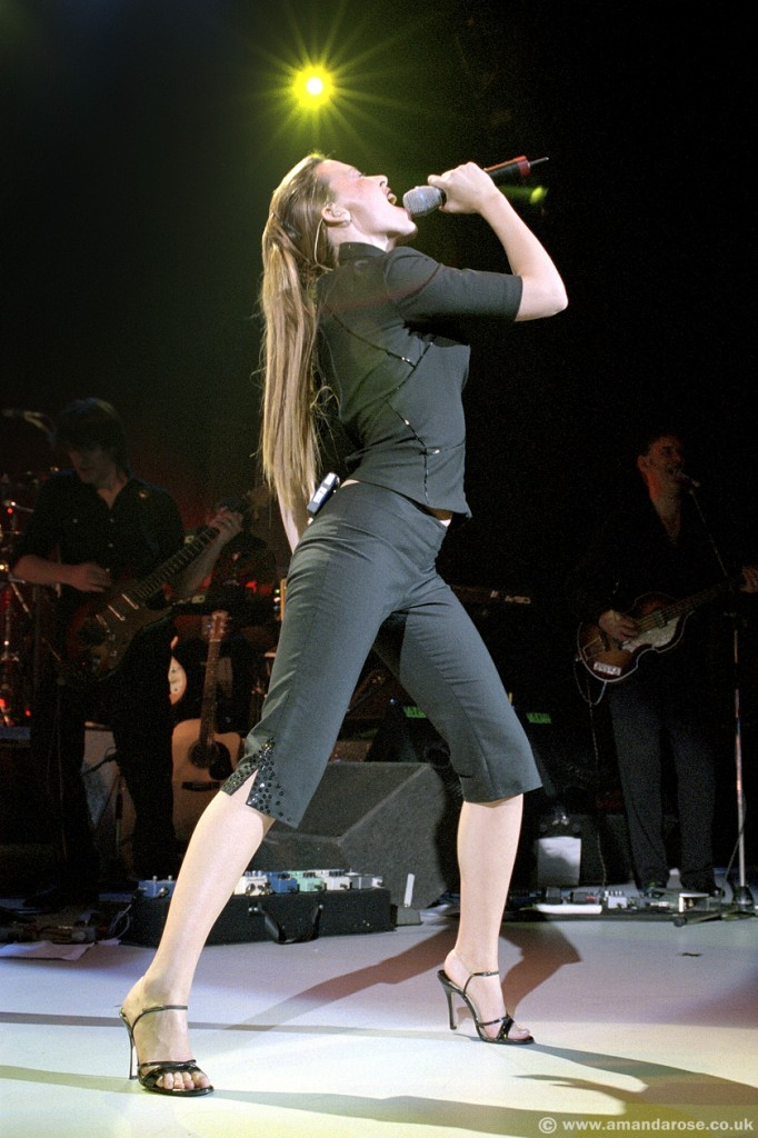 Kylie Minogue, performing live at Shepherds Bush Empire, 30th July 1998