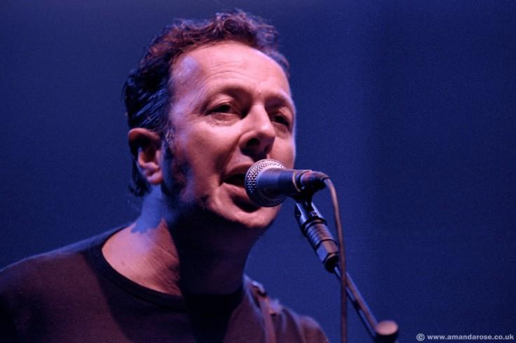 Joe Strummer performing live at Brixton Academy, 6th May 2000