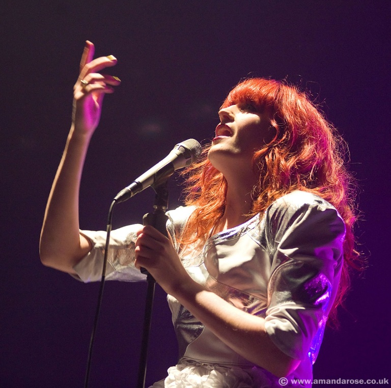 Florence and the Machine, performing live at Brixton Academy, 13th December 2009