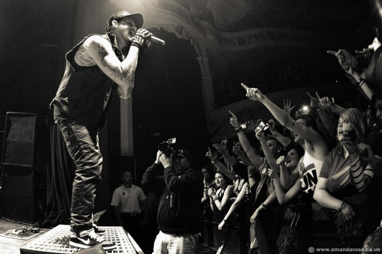 Good Charlotte, performing live at O2 Shepherds Bush Empire, 7th August 2011
