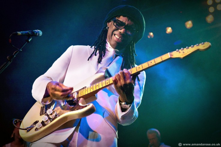 Chic and Nile Rogers performing live at the HMV Forum, Kentish Town, London, 4th September 2009