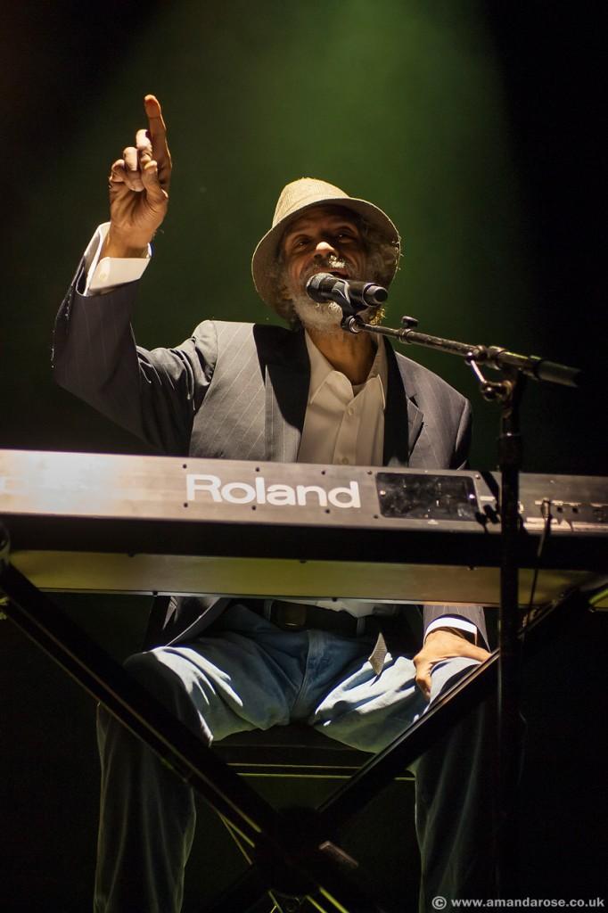 Gil Scott-Heron, performing live at Brixton Academy, 14th November 2010