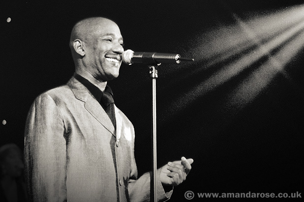Errol Brown, performing live at Shepherds Bush Empire, 30th May 1998