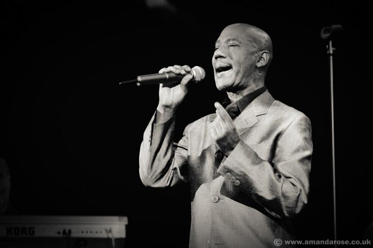 Errol Brown, performing live  at Shepherds Bush Empire, 30th May 1998