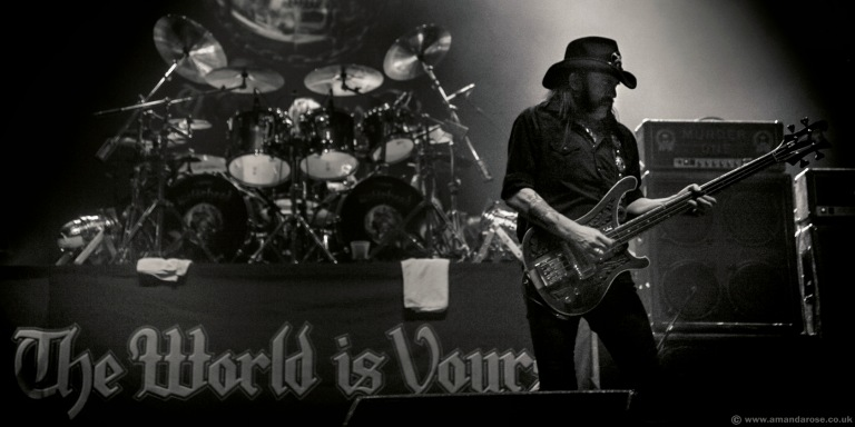 Motörhead, performing live at Brixton Academy, 27th November 2010