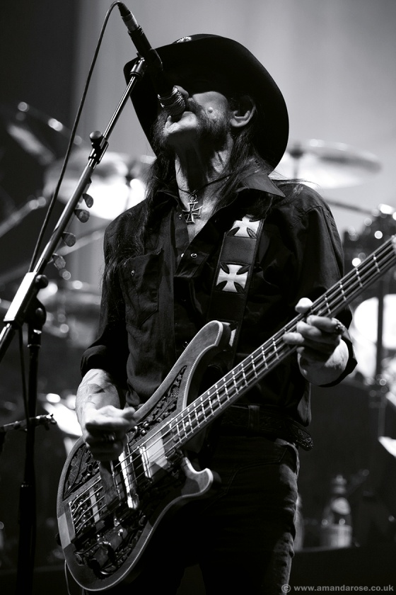 Motörhead, performing live at Wembley Arena, 8th November 2014