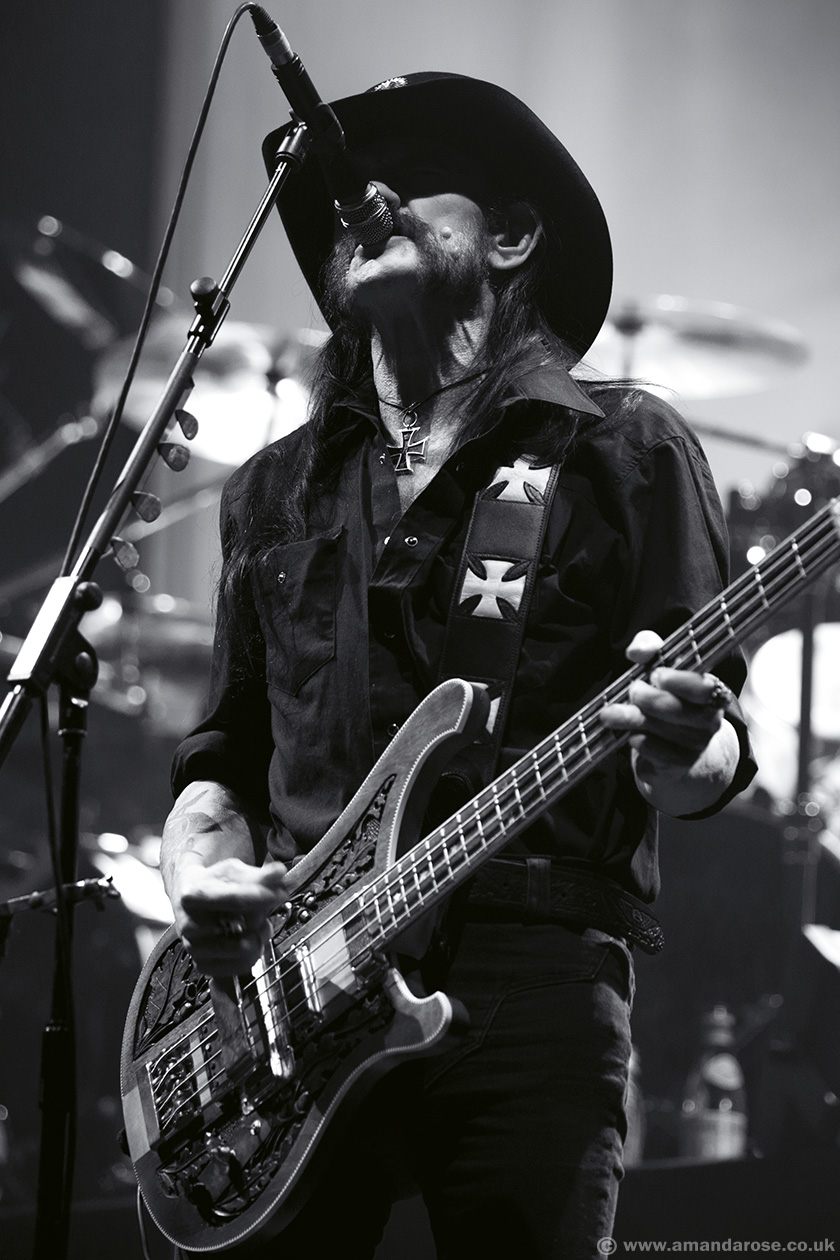 Motörhead, performing live at Wembley Arena, 8th November 2014
